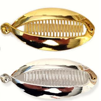 Hårspænde Sølv / Guld - Fishbone