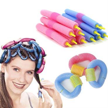 Magic curler Twister pins 12 stk -  Skumcurler