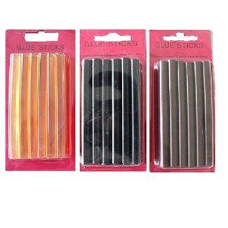 N/A – Keratin glue sticks 10 stk fl. farver fra fashiongirl