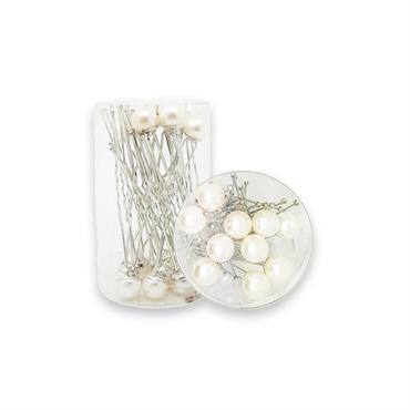 N/A – Pynte hårnåle med perle - 20 stk på fashiongirl