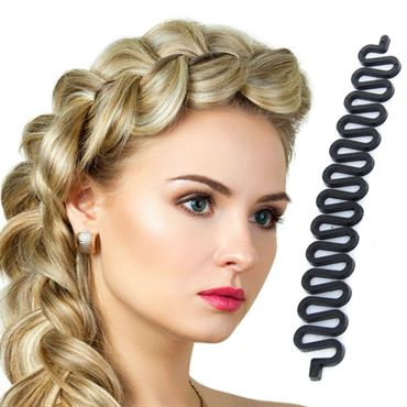 N/A Hair braider 15 cm - lav perfekt sildebensfletning fra fashiongirl