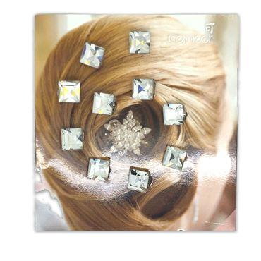 Hår krystaller / hair diamonds  (10 stk) fra N/A på fashiongirl