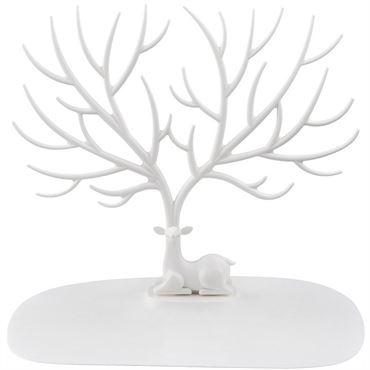 Oh my deer smykketræ - hvid