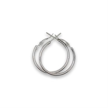 N/A Sølv creoler 40 mm fra fashiongirl