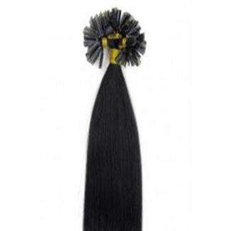 Image of 50 cm Hot Fusion Hair extensions 1# Sort