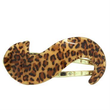 N/A – Hårspænde - leopard swirl fra fashiongirl