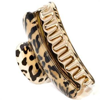 Hårklemme - leopard fra N/A på fashiongirl