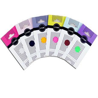 Image of   LYXO Hår elastikker 10 stk fl. farver