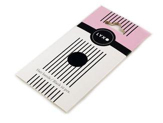 N/A – Lyxo sport hår elastikker color box sorte 10 stk på fashiongirl