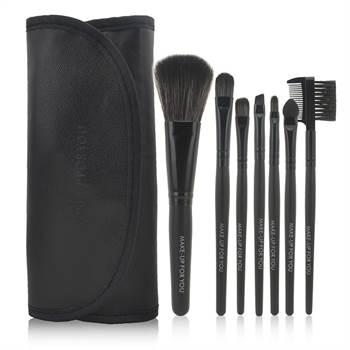 N/A – Professionelt makeup børste sæt  - 7 stk. fra fashiongirl