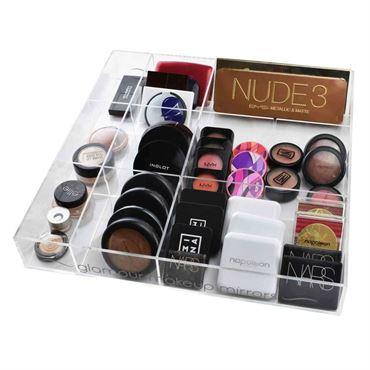 Image of   AVERY® Makeup Organizer Bakke med 12 rum