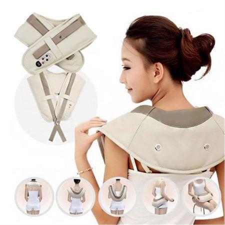 Image of   Cervical Massagebælte / Massagepude til nakke, skuldre, lår med
