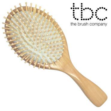 Tbc® hårbørste natur - bøg & ahorn træ fra N/A fra fashiongirl
