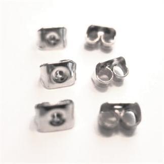 Image of   6 par Låse til øreringe