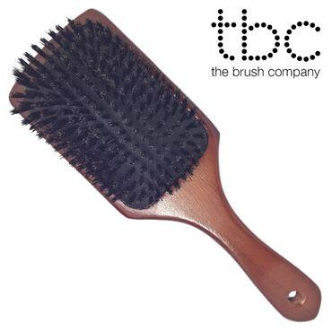 Image of   TBC® Boar Bristle pladesbørste med vildsvinehår