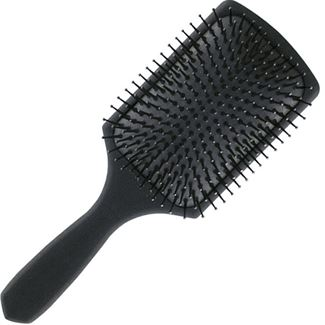 Hår Børste Paddle Brush Sort