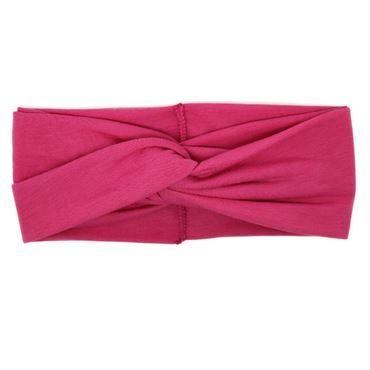 N/A Soho® turban hårbånd, pink fra fashiongirl