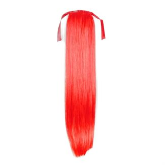 N/A – Pony tail fiber extensions straight total red fra fashiongirl