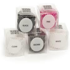 Premium spiral elastikker 3 stk.fl. farver fra N/A på fashiongirl