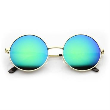 Retro Solbriller -Regnbue Glas