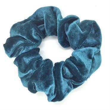 N/A Scrunchie hårelastik, dark mint på fashiongirl