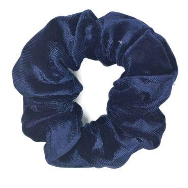 Scrunchie hårelastik, mørkeblå fra N/A på fashiongirl