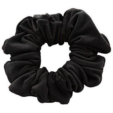 N/A – Scrunchie hårelastik - sort fra fashiongirl