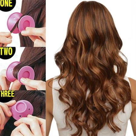 Silicone curlers 10 stk