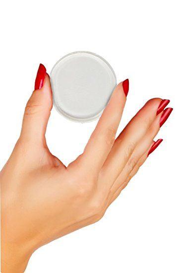 Foxy® silicone sponge rund  - silikone makeup svamp fra N/A fra fashiongirl