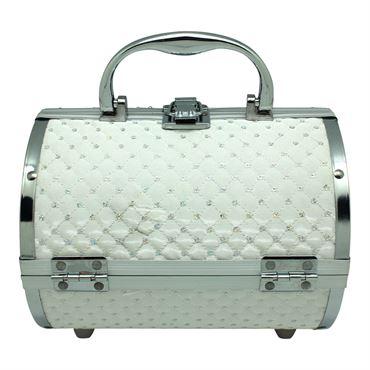 N/A – Avery® smykkeskrin i aluminium, hvid på fashiongirl