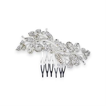 Hårkam - crystal swirl fra N/A fra fashiongirl