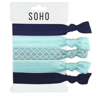 N/A Soho® hair ties no. 19 - ocean på fashiongirl