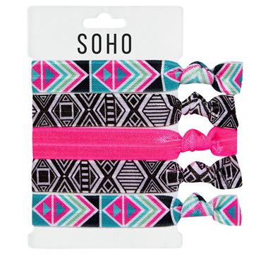 Soho® hair ties no. 20 - playful fra N/A på fashiongirl