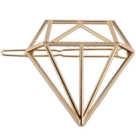 SOHO® Diamant Hårspænde - Guld