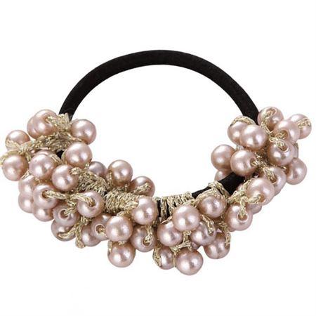 SOHO Mila Hårelastik med perler - No 6277-3 thumbnail