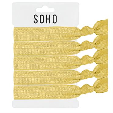N/A Soho® hair ties no. 06 - vanila white på fashiongirl