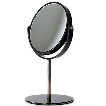 Makeup spejl med fod sort/black  uniq® design fra N/A på fashiongirl