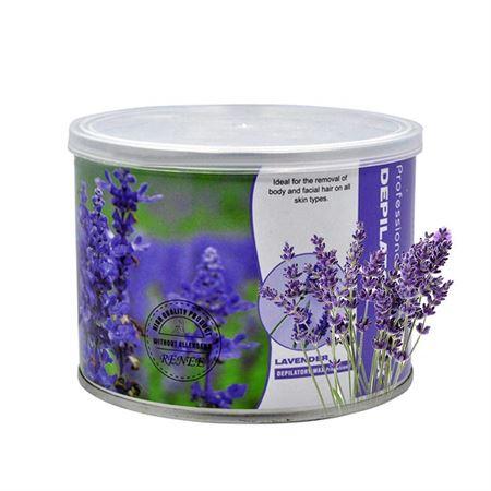 Image of   PRO Spartelvoks til hårfjerning, lavendel - dåse 400g