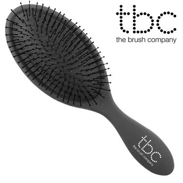 Image of   TBC® The Wet & dry Brush hårbørste, sort