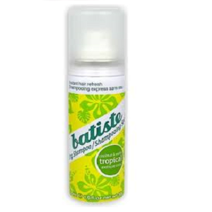 Batiste dry shampoo Tropical Pocket size Mini 50 ml