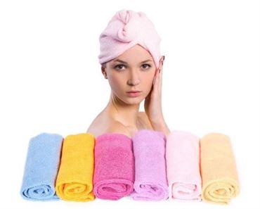 N/A – Turban twister håndklæde til dit hår på fashiongirl