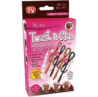N/A Twist n clip - pakke m/ 3 stk fra fashiongirl