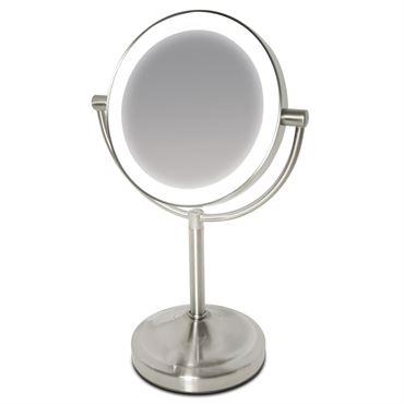 Makeup spejl med lys - large deluxe fra uniq® fra N/A på fashiongirl