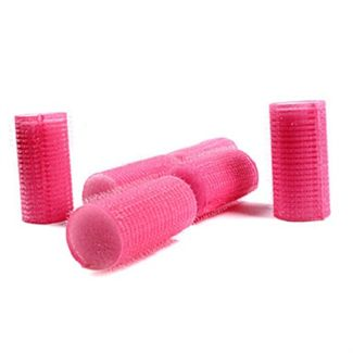 N/A Magic velcro curlers pink 10 stk på fashiongirl