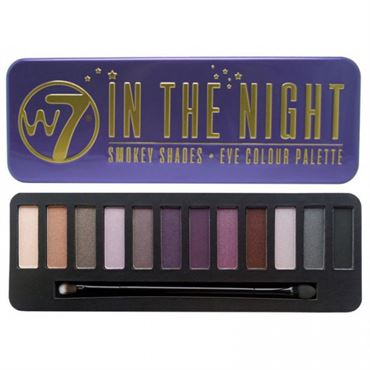 N/A W7 in the night eye palette øjenskygge på fashiongirl