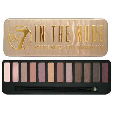 N/A W7 in the nude øjenskygge palette på fashiongirl