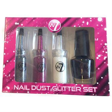 N/A – W7 nail dust glitter set fra fashiongirl