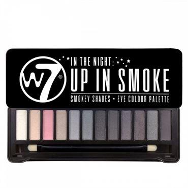 N/A W7 up in smoke eye palette - øjenskygger fra fashiongirl