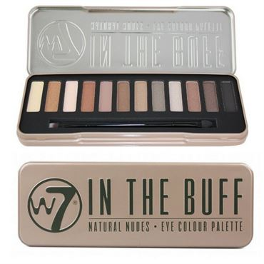 N/A W7 in the buff eye palette øjenskygge fra fashiongirl