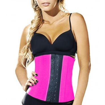 AVA® Latex Waist Trainer Pink